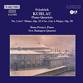Piano Quartets Nos 1 and 2 by Friedrich Kuhlau