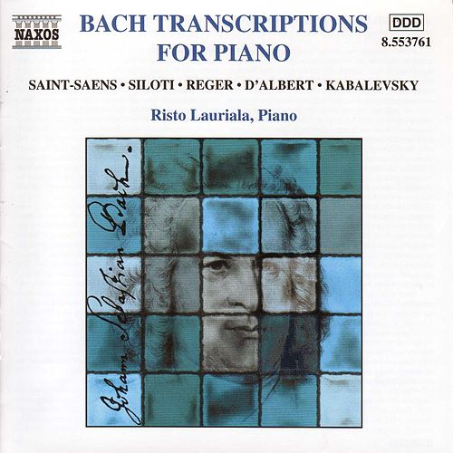 Bach Transcriptions For Piano by Johann Sebastian Bach