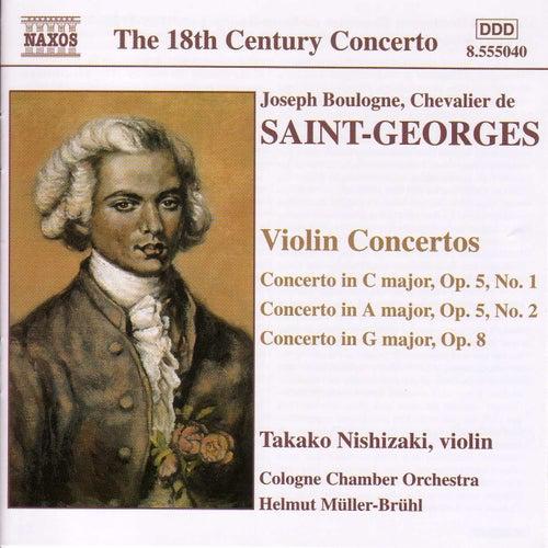 Violin Concertos by Joseph Boulogne, Chevalier de Saint-Georges