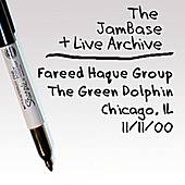 11-11-00 - The Green Dolphin - Chicago, IL by Fareed Haque Group