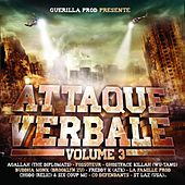 Attaque verbale, Vol. 3 by Various Artists