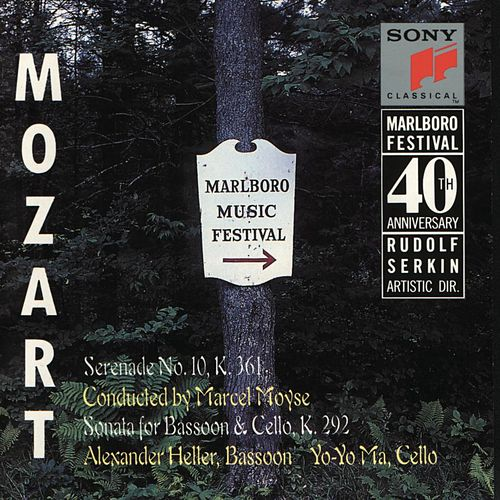 Mozart: Serenade, K. 361; Sonata for Bassoon & Cello, K. 292 by Various Artists