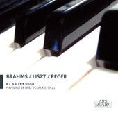 Brahms, Liszt, & Reger: Klavierduo by Hans-Peter Stenzl