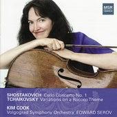 Shostakovich: Cello Concerto & Tchaikovsky Rococo Variations by Kim Cook