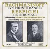 Rachmaninoff: Symphonic Dances, For Orchestra Op. 45 & Respighi: Feste Romane (Roman Festivals), Symphonic Poem, P. 157 by London Symphony Orchestra