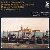 Antonio Vivaldi, A. Marcello, D. Cimarosa, V. Bellini, concertos for Oboe & Orchestra by Jean-Paul Goy