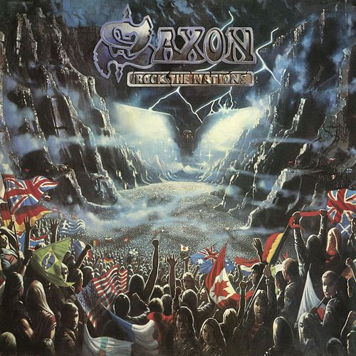 Rock The Nations by Saxon