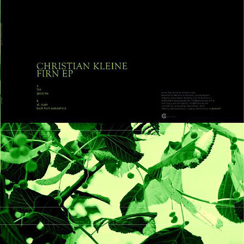 Firn Ep by Christian Kleine
