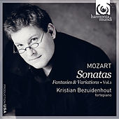 Mozart: Keyboard Music Vol. 1 by Kristian Bezuidenhout