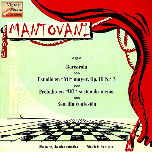 Vintage World Nº 83 - EPs Collectors, 'Inmortal Classics' by Mantovani & His Orchestra