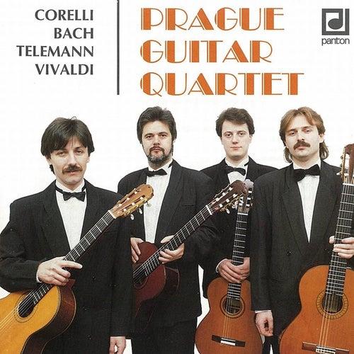 Corelli / Bach / Telemann / Vivaldi:  Prague Guitar Quartet by Prague Guitar Quartet