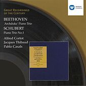 Beethoven/Schubert: Piano Trios by Jacques Thibaud
