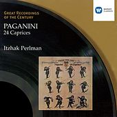 Paganini: 24 Caprices for solo violin by Itzhak Perlman