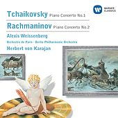 Tchaikovsky/Rachmaninov Piano Concertos by Alexis Weissenberg