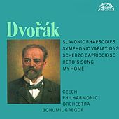 Dvorak:  Slavonic Rhapsody, My Home, A Hero's Song, Scherzo capriccioso by Czech Philharmonic Orchestra