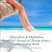 Relaxation & Meditation: Beautiful Sound of Ocean Waves With Singing Birds by Binaural