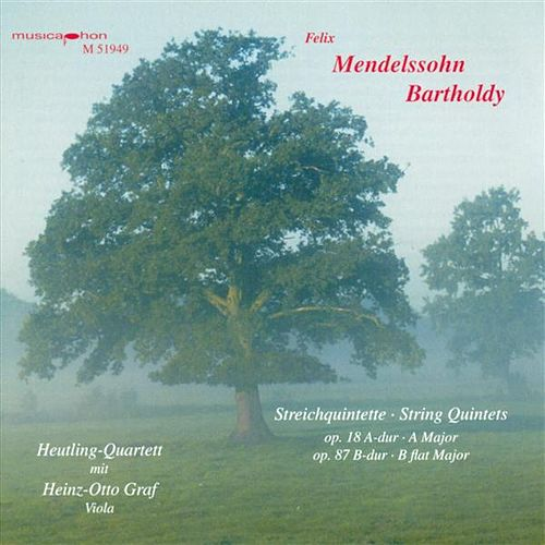 Mendelssohn, Felix: String Quintets Nos. 1 and 2 by Heinz-Otto Graf
