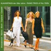 Martin, F.: Trio Sur Des Melodies Populaires Irlandaises / Bloch, E.: 3 Nocturnes / Cassado, G.: Piano Trio (Piano Trios of the 1920S) by Kairos Trio