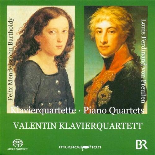 Louis Ferdinand: Piano Quartet, Op. 5 / Mendelssohn, Felix: Piano Quartet No. 2 by Valentin Klavierquartett