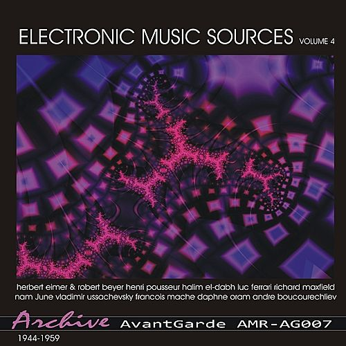Electronic Music Sources Volume 4 by Various Artists