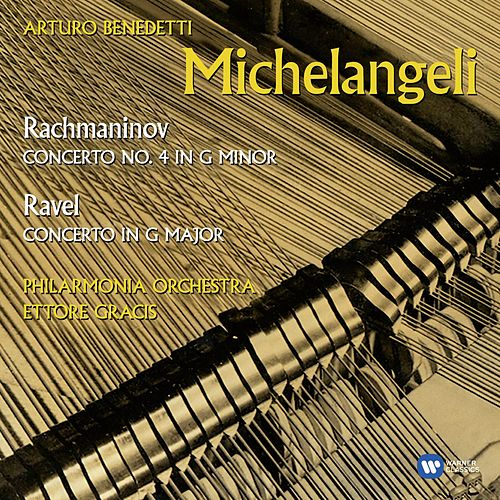 Ravel & Rachmaninov: Piano Concertos by Philharmonia Orchestra