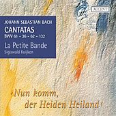 Bach: Cantatas, Vol. 9 by Christoph Genz