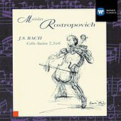 J.S. Bach: Cello Suites 2, 3 & 6 by Mstislav Rostropovich