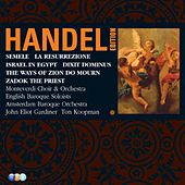 Handel Edition Volume 5 - Semele, Israel in Egypt, Dixit Dominus, Zadok the Priest, La Resurrezione, The Ways of Zion do Mourn von Various Artists