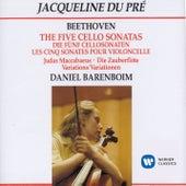 The Five Cello Sonatas by Jacqueline du Pre