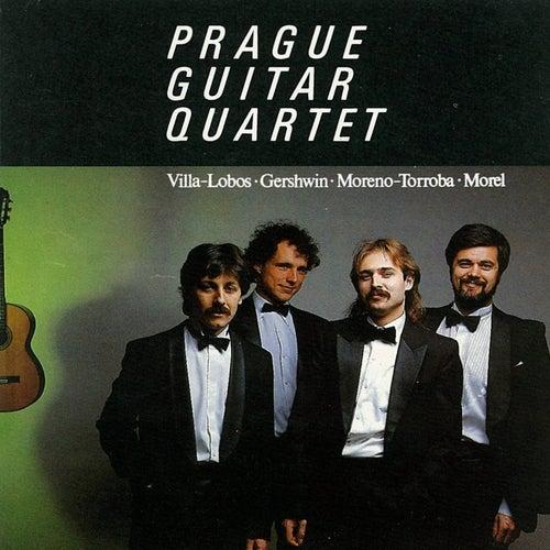 Villa-Lobos, Gershwin, Torroba, & Morel: Works for Guitar by Prague Guitar Quartet