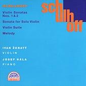 Schulhoff:  Complete Violin Works by Ivan Zenaty