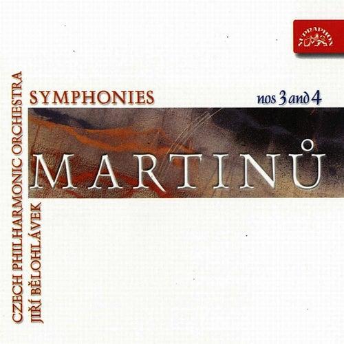 Martinu:  Symphony Nos 3 & 4 by Czech Philharmonic Orchestra