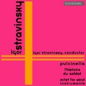 Stravinsky: Pulcinella, L'Histoire du Soldat, Octet for Wind Instruments von Cleveland Orchestra