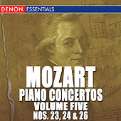 Mozart: Piano Concertos - Vol. 5 - 23, 24 & 26 by Various Artists