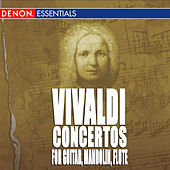 Vivaldi: Concerto for Guitar In D and In C, Concerto for Flute and Guitar In C and In G & Concerto for Mandolin, RV 425 by Various Artists