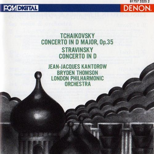 Tchaikovsky: Violin Concerto in D Major - Stravinsky: Violin Concerto in D by London Philharmonic Orchestra