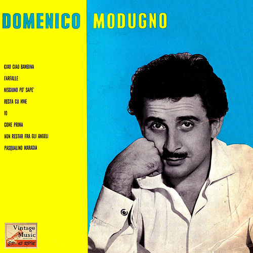 Vintage Pop No. 122 - EP: Come Prima by Domenico Modugno