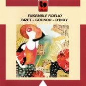 Ensemble Fidelio: Gounod, Petite Symphonie – D'Indy: Chanson et Danses – Bizet: Jeux d'enfants, Suite de Carmen by Antoinette Baehler