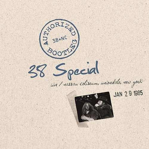Authorized Bootleg - Nassau Coliseum, Uniondale, New York 1/29/85 by .38 Special
