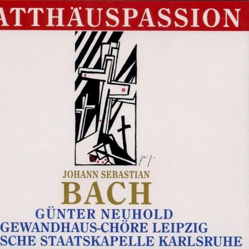 Johann Sebastian Bach: Matthäus-Passion von Gewandhauschor Leipzig, Badische Staatskapelle, Michael Nowak, Thomas Mohr