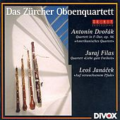Dvorak, A.: String Quartet No. 12 / Filas, J.: Dear Good Old Freedom / Janacek, L.: On the Overgrown Path by Zurich Oboe Quartet
