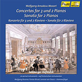 Mozart: Concertos for 3 and 2 Pianos / Sonata for 2 Pianos by Wolfgang Brunner
