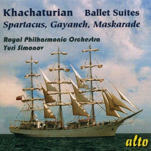 Khachaturian: Famous Ballet Suites: Spartacus – Gayaneh - Maskarade by Yuri Simonov