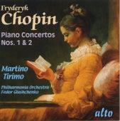 Chopin: Piano Concertos Nos. 1 & 2 by Martino Tirimo