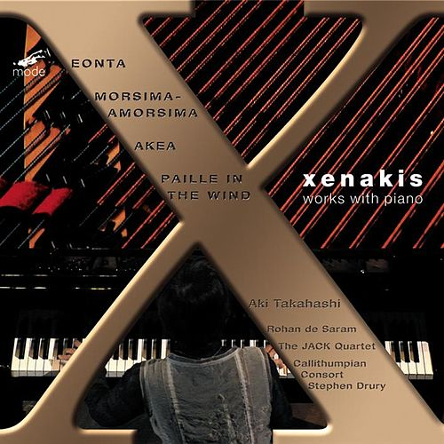 Iannis Xenakis: Works with Piano by Aki Takahashi