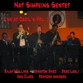 Nat Simpkins Sextet Live at Cecil's Vol.1 by Nat Simpkins
