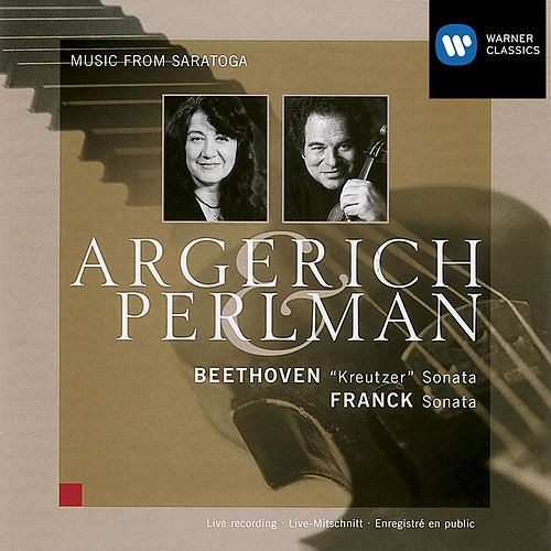 Beethoven: Violin Sonata Op.47 / Franck: Violin Sonata by Itzhak Perlman