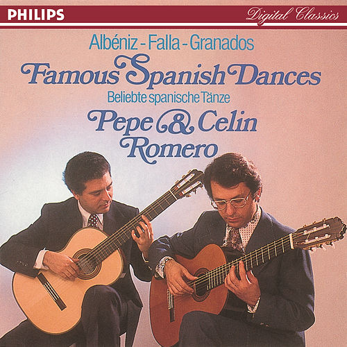 Famous Spanish Dances by Pepe Romero