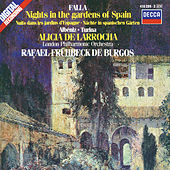 De Falla / Albéniz / Turina: Nights in the Gardens of Spain / Rapsodia Española etc. by Alicia De Larrocha