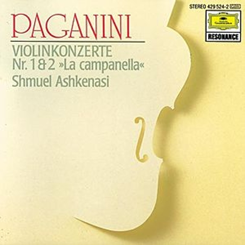 Paganini: Concertos for Violin and Orchestra Nos. 1 & 2 by Shmuel Ashkenasi